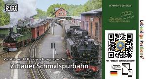 Zittauer Schmalspurbahn - Lebendige Postkarte